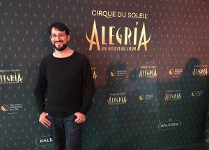JP en el Circo del Sol en Montreal