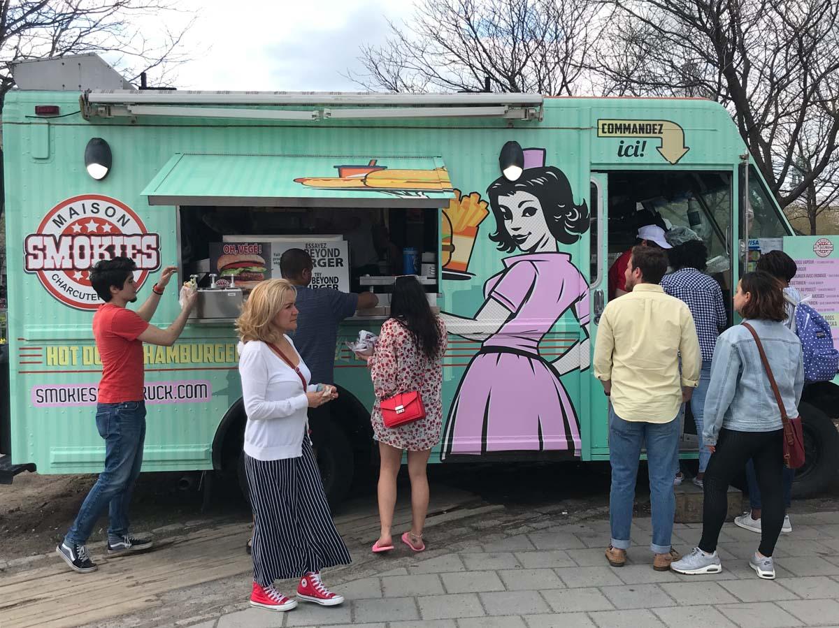 Food truck en Montreal