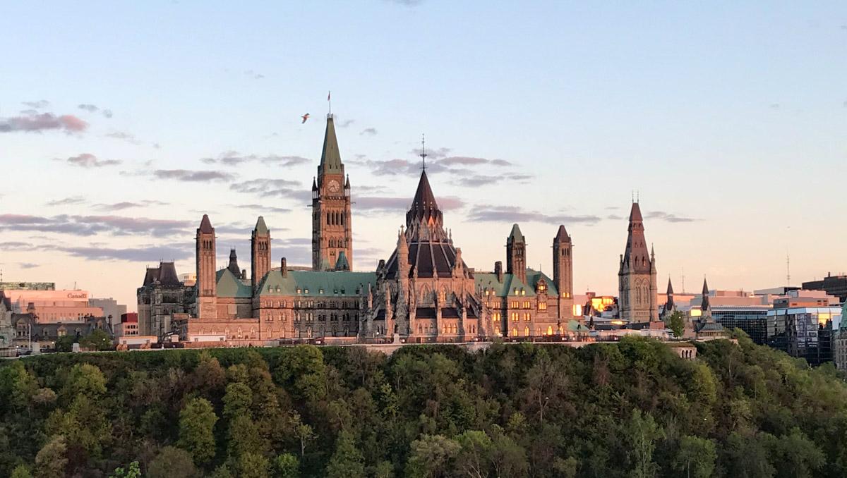 Panoramica del Parlamento