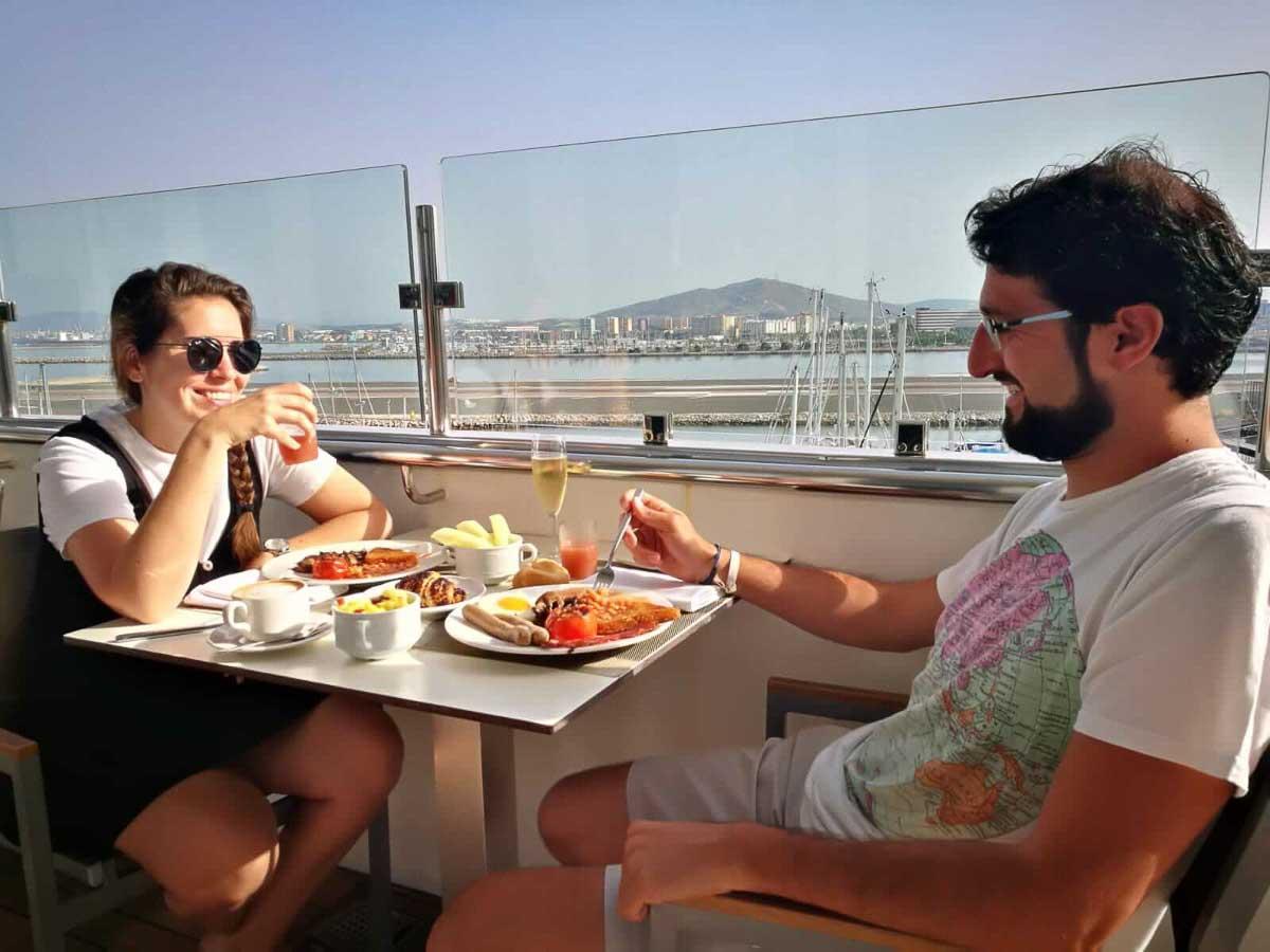 que comer en Gibraltar