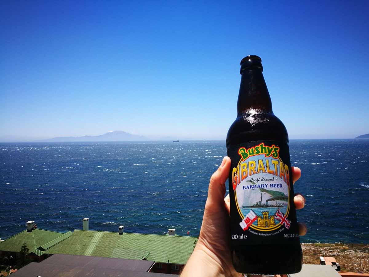 Cerveza de Gibraltar