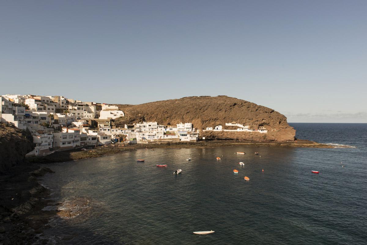 Costa de Tufia en Gran Canaria