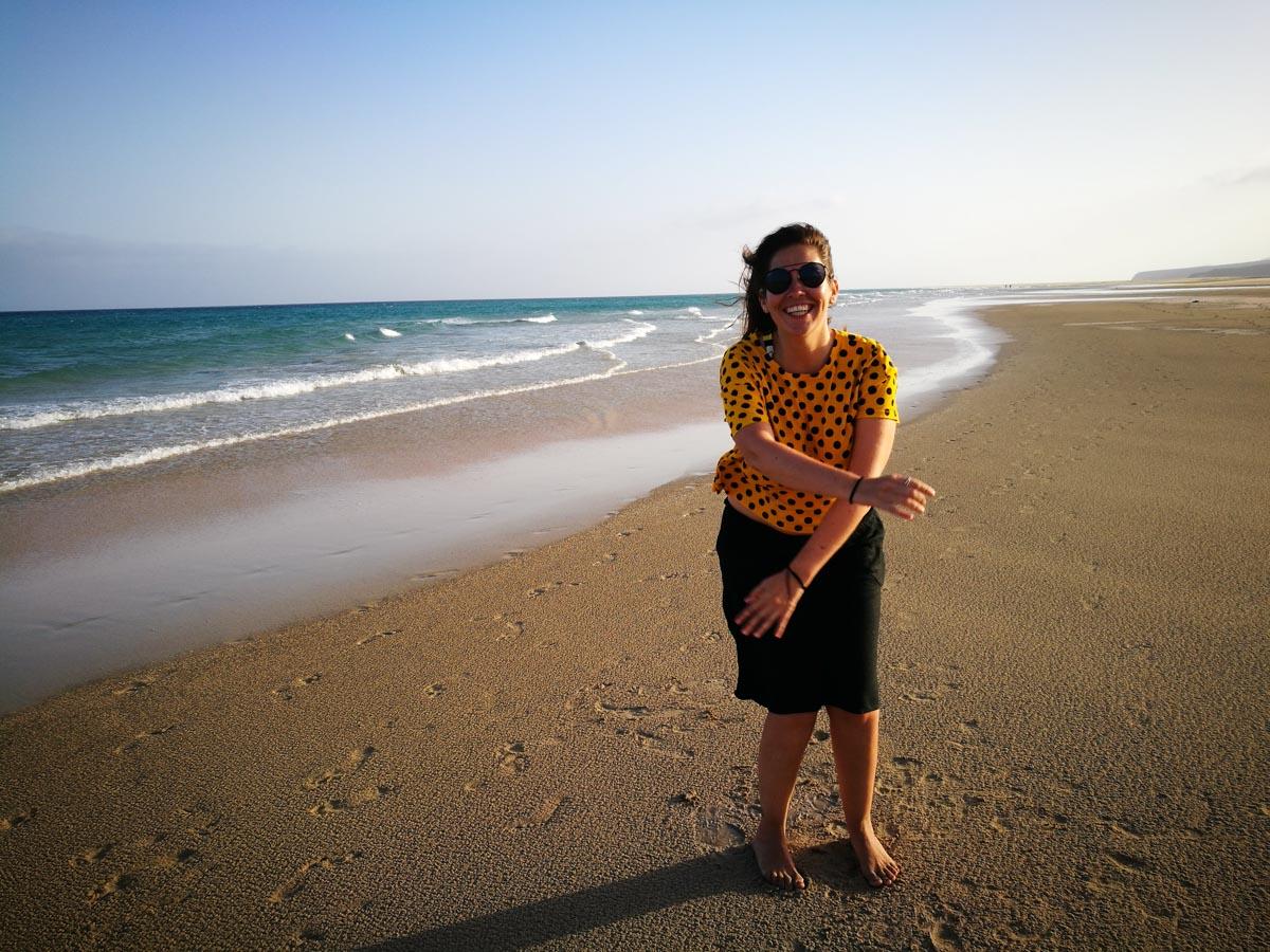 Viento en Fuerteventura