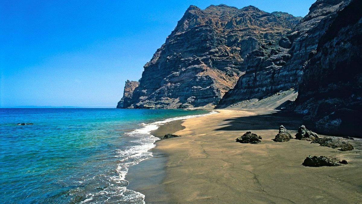 Playa guigui en Gran Canaria