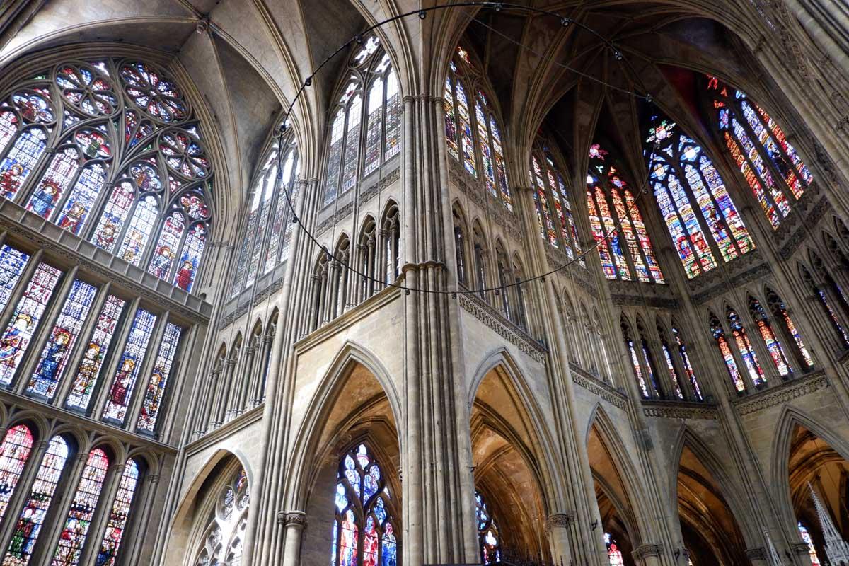 Vidrieras de la Catedral de Metz