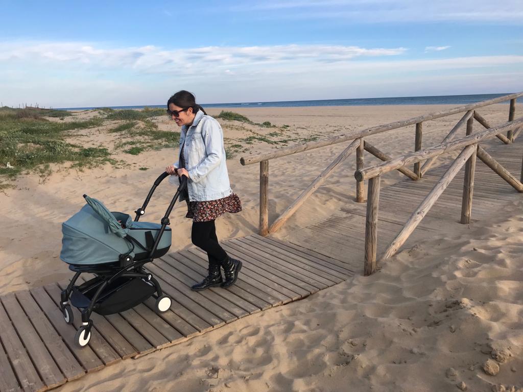 Playa Isla Canela de Huelva