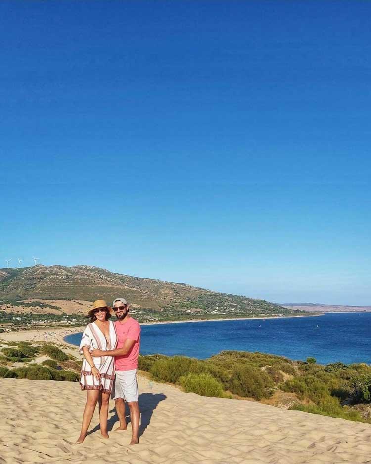 Playa Punta Paloma de Cadiz