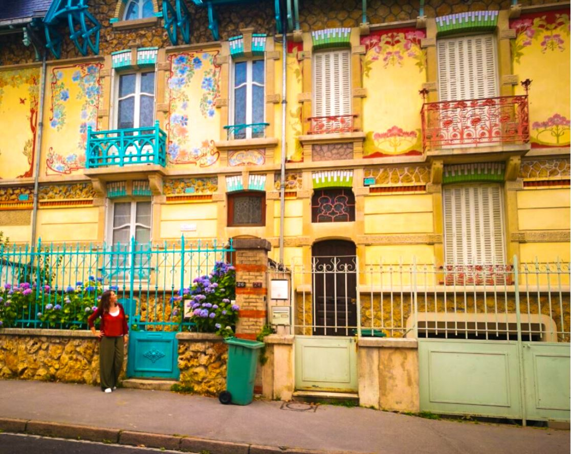 Casas Art Noveau de Nancy