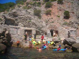 Kayak en Ibiza