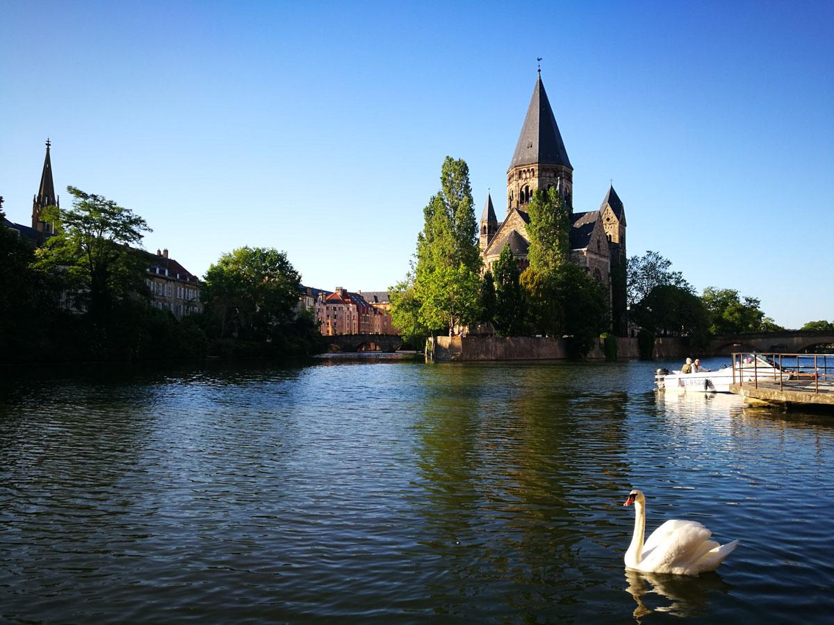 Zonas verdes de Metz