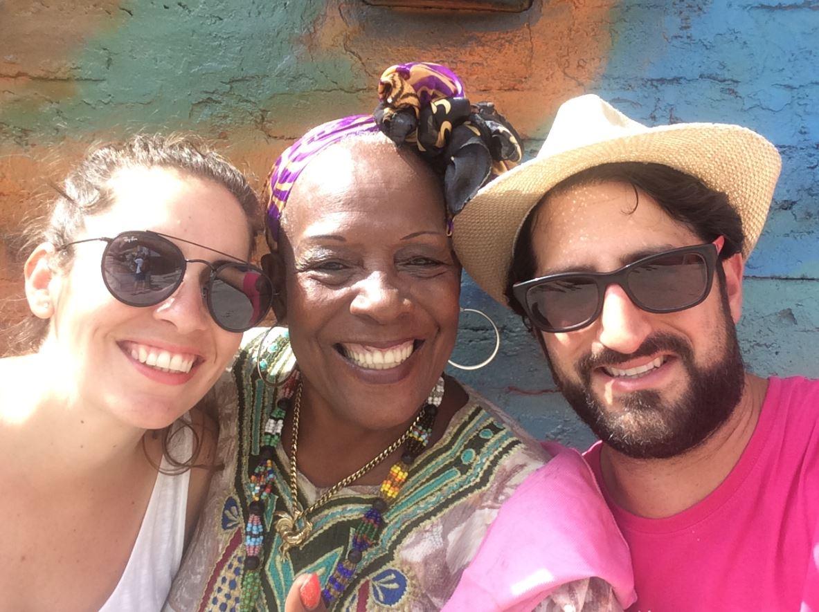 Con los cubanos