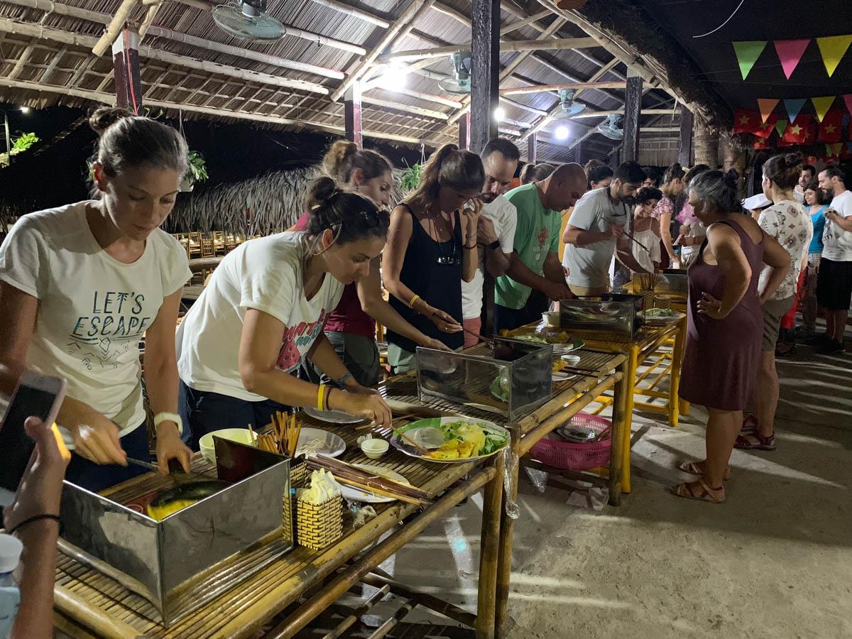Taller cocina en Hoi An
