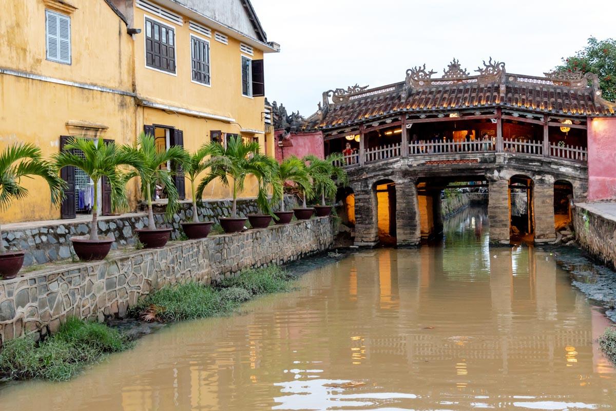 Puente cubierto de Hoi An