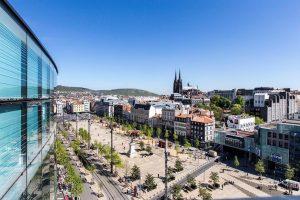 Turismo sostenible: Mercure hotel en Clermont Ferrand