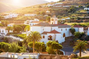 Vistas a Betancuria, Fuerteventura