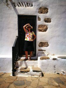 Puerta de una casa tipica de Betancuria