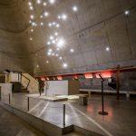 Interior iglesia Le Corbusier