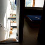 Interior casa del edificio de Le Corbusier