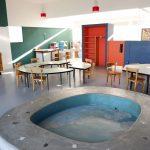Colegio en el edifico de Le Corbusier