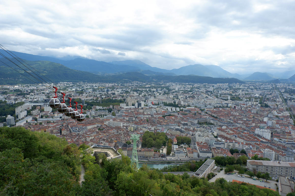 Vistas a Grenoble