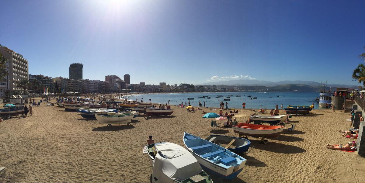 Playa de las Canteras de Gran Canaria