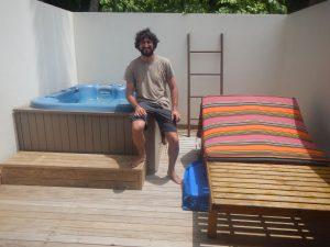 JP en las Maldivas