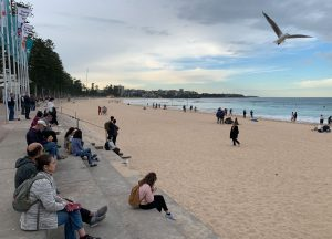 Atardecer en Manly Beach