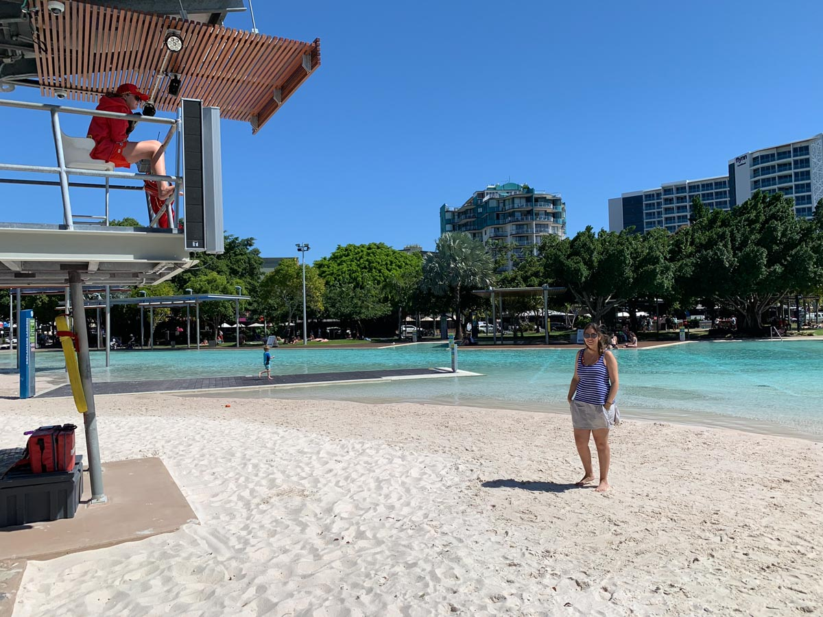Playa artificial de Cairns