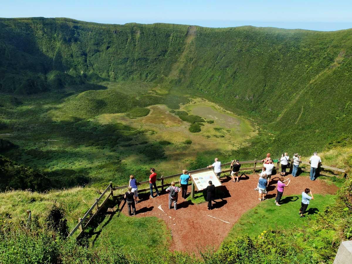 Mirador en las Azores