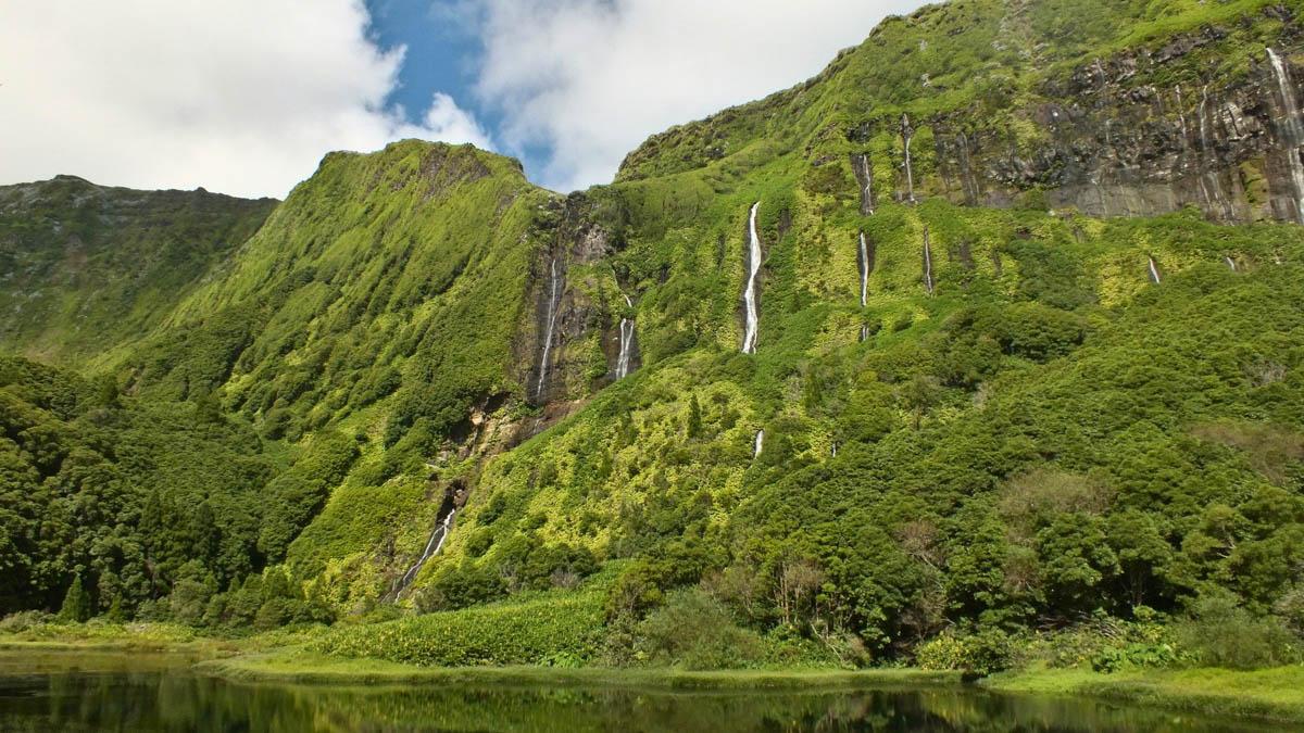 Cascadas: viajar a las islas Azores