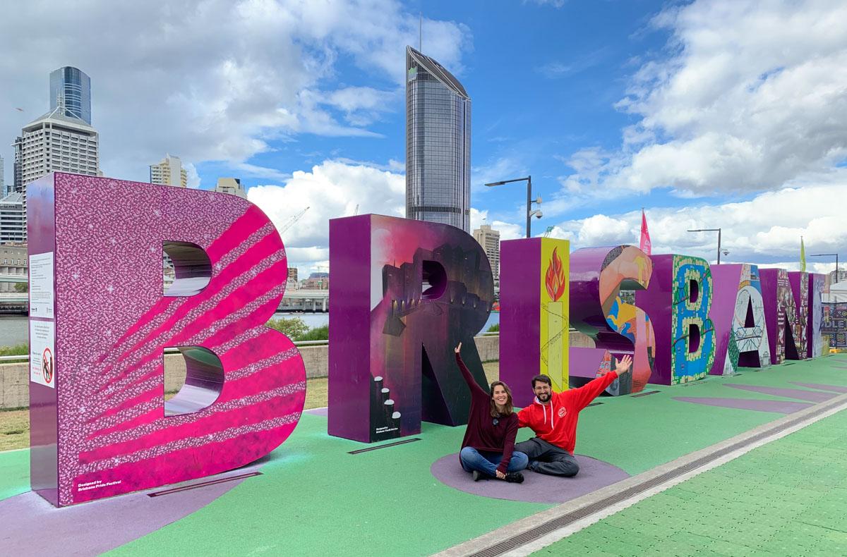 Letras de Brisbane