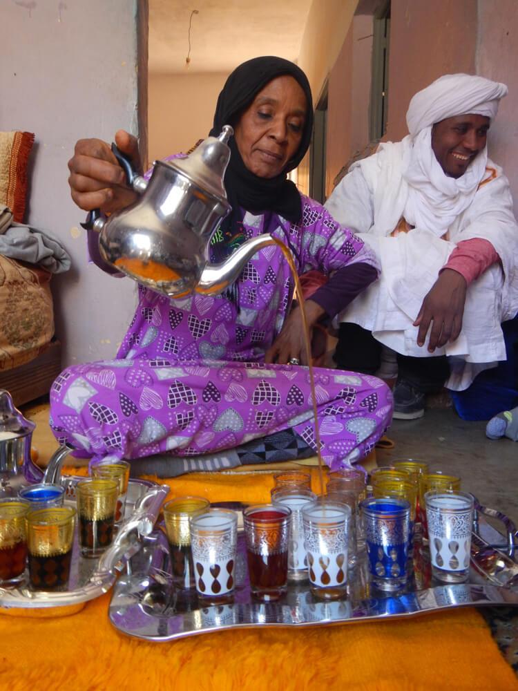 Te en Marruecos