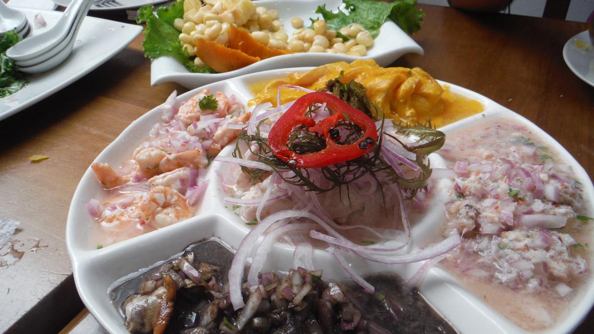 Comidas del mundo: Peru
