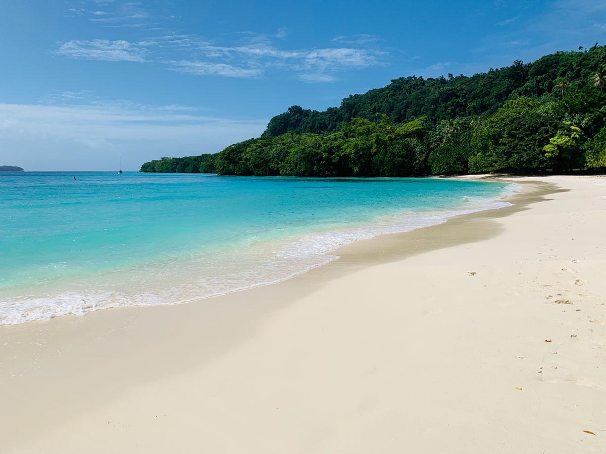 Playa Champagne de Espiritu Santo