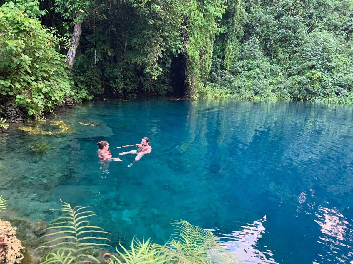 Blue Lagoon en Espiritu Santo