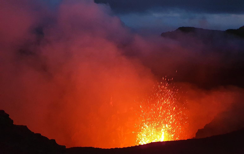 Volcán activo de Tanna