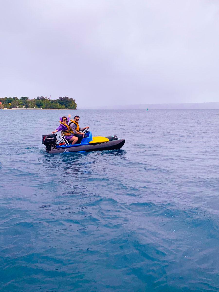 Actividades acuáticas en Vanuatu