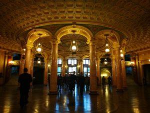 Hall del Ateneo Rumano