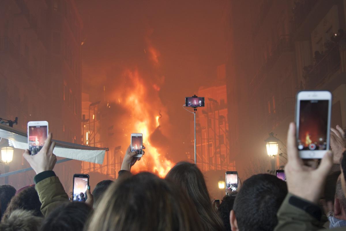 Crema en Valencia