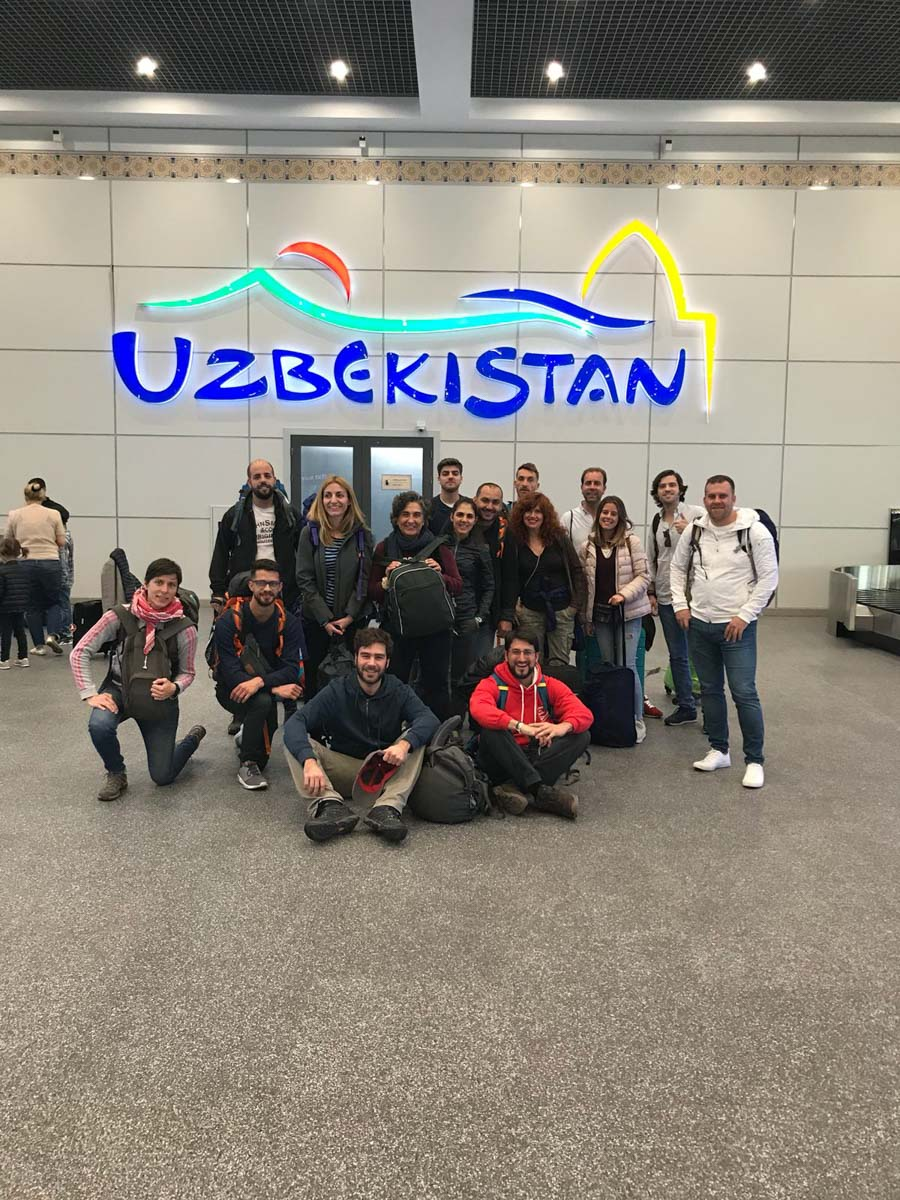 Aeropuerto de Uzbekistan