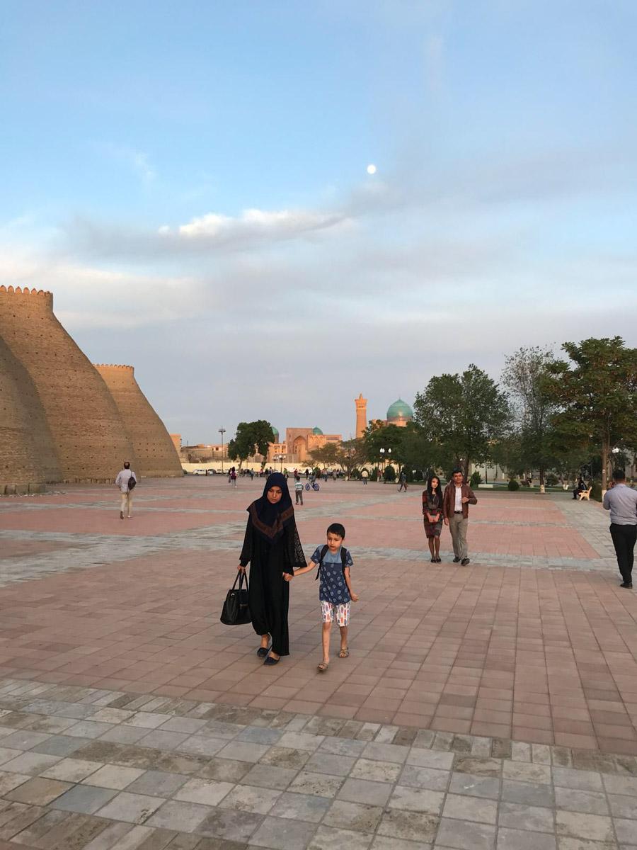 Murallas en Bukhara