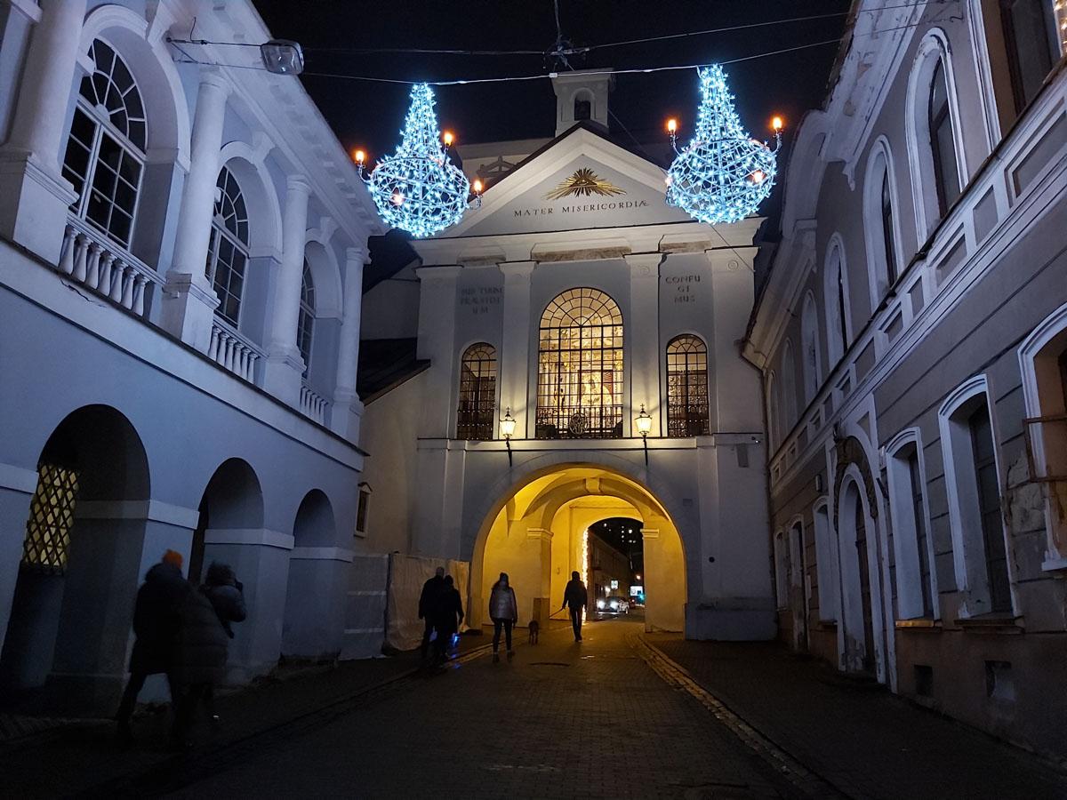Puerta de la Aurora, Vilna
