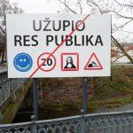 Cartel de Uzupis