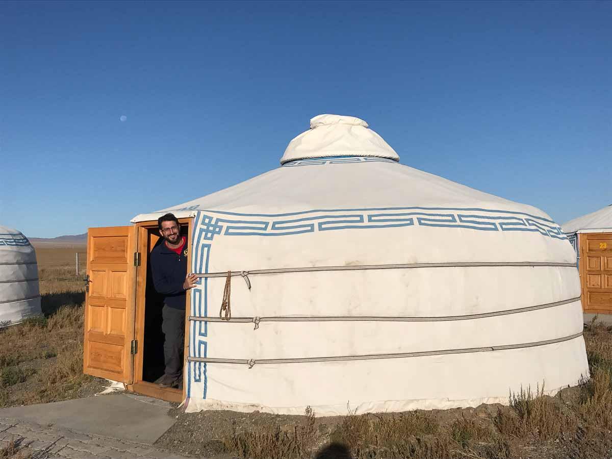 Campamento en Mongolia