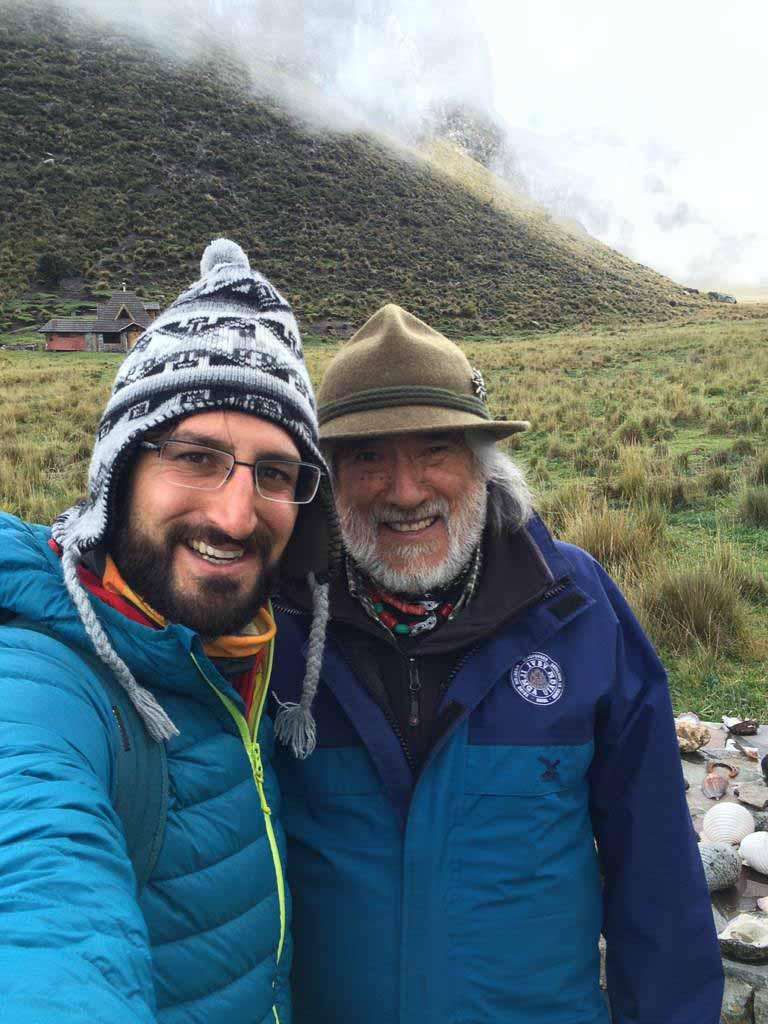 El hombre del Chimborazo