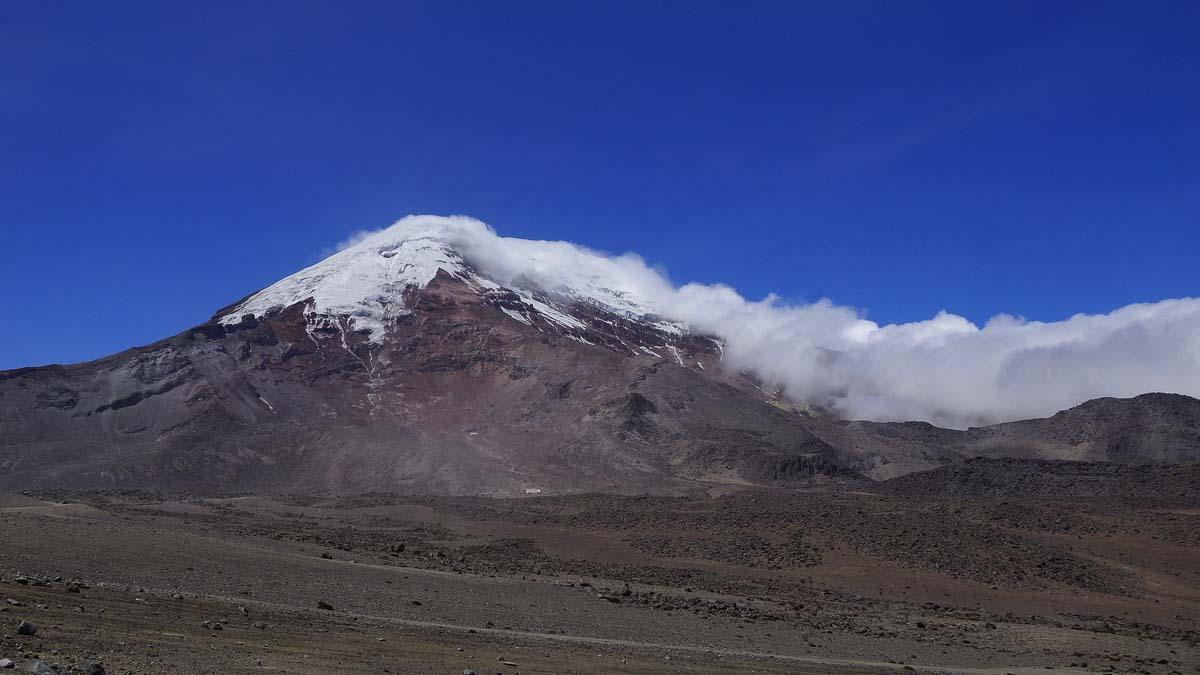 Volcan Chimborazo, Ecuador