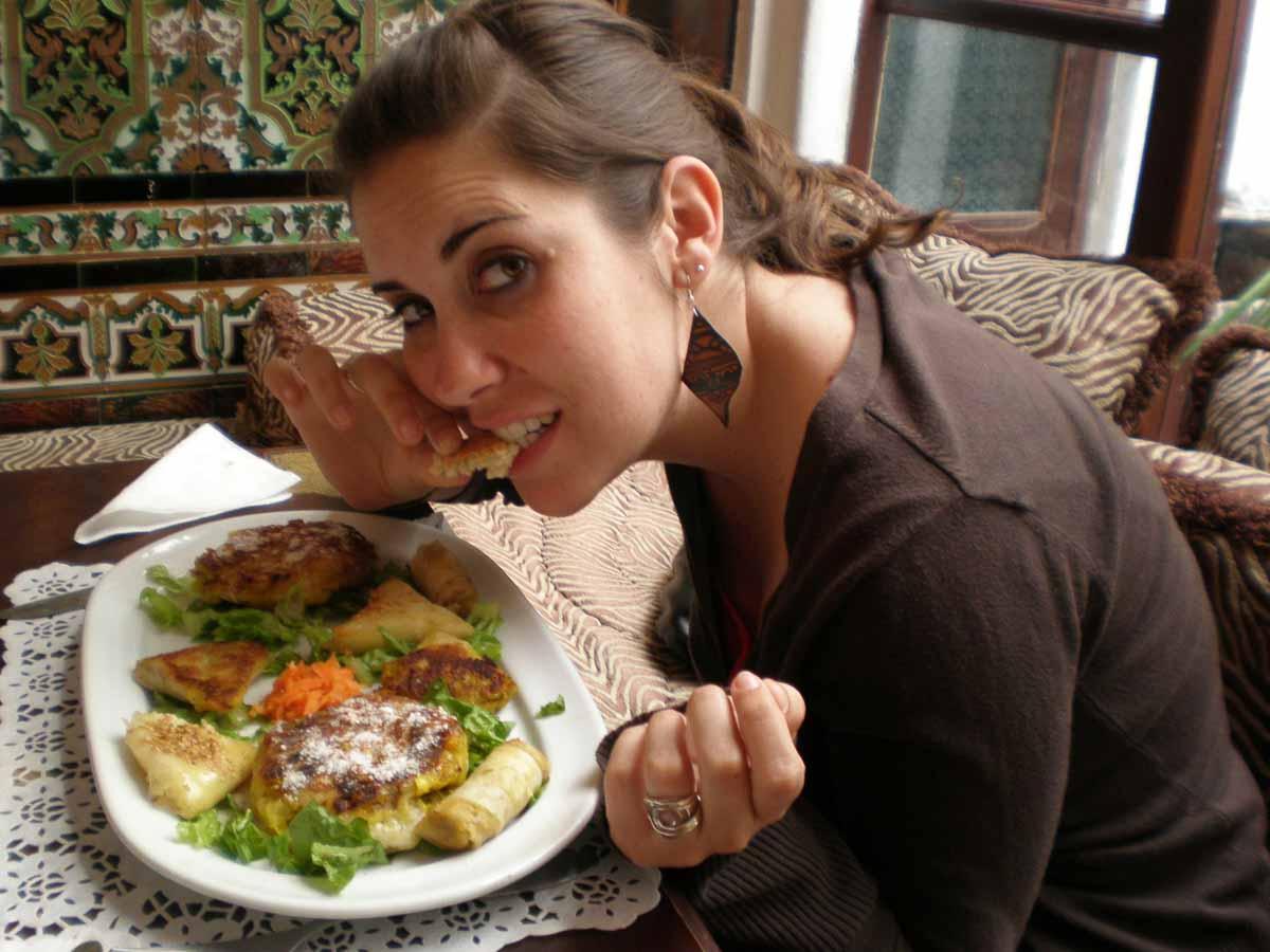 Comer en Tetuan