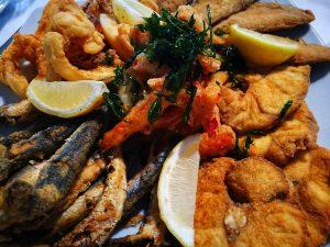 Pescaito frito en Cadiz