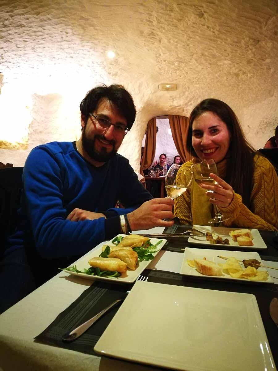 Comer en Granada