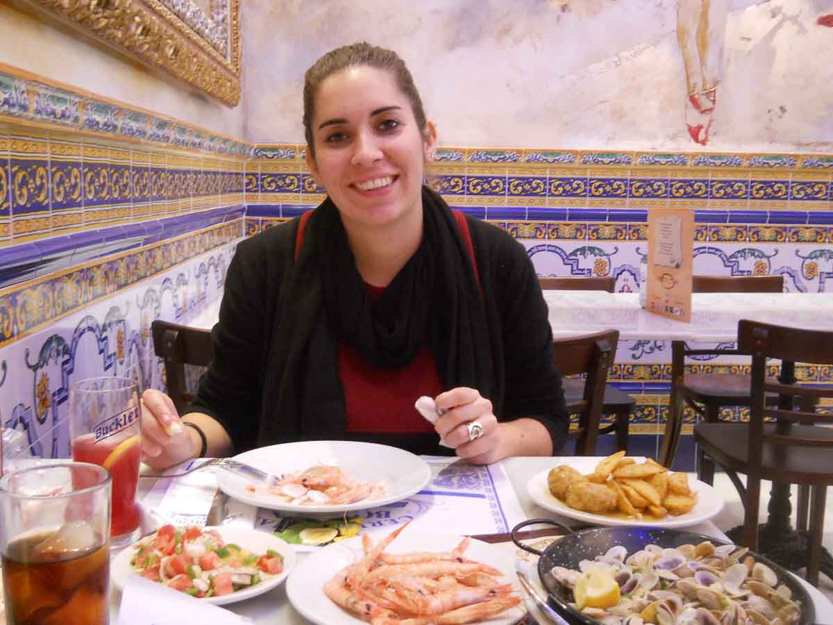 Comer en Huelva